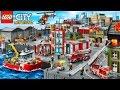 LEGO Police Car, Fire Truck Videos | Game My City 2 - NEW Airport Update