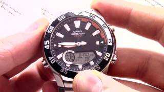 часы Casio Outgear AMW-710-1A AMW-710-1AVEF - Инструкция, как настроить от PresidentWatches.Ru