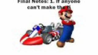 Mario Kart Wii Tournament