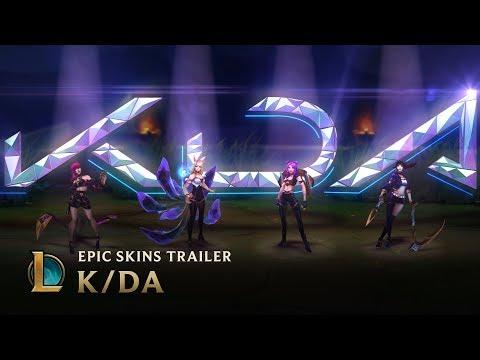 K/DA | OFFICIAL SKINS TRAILER - LEAGUE OF LEGENDS