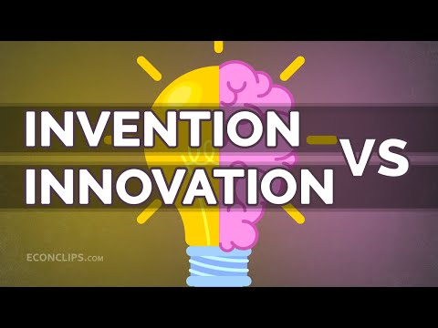💡 What's the difference between invention and innovation?