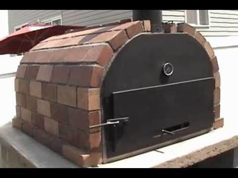 Quot Brick N Flame Quot Wood Fire Brick Oven By Mr Energy Youtube