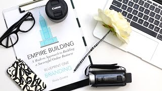 Getting Started With A Blog & Youtube   Plan With Me