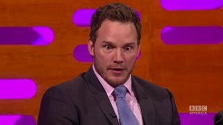 Chris Pratt Gets Naked on Parks and Rec - the Graham Norton Show.