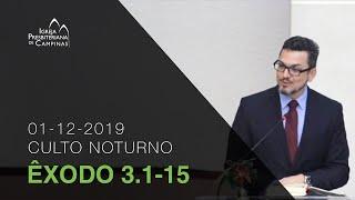 Culto Noturno 01/12/19