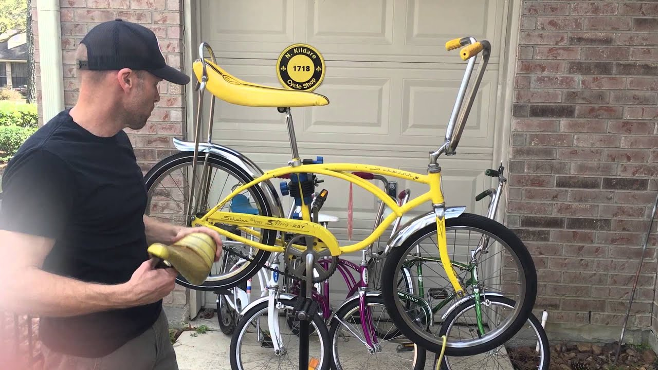 70 Schwinn Stingray Bike - Year of Clean Water