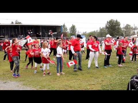 Flash Mob in Kirkland Lake, Canada Day 2015