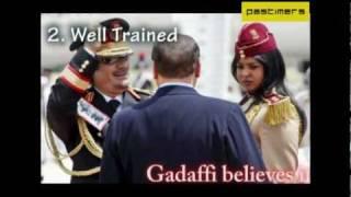 5 Unbelievable Facts Of Gaddafi's Bodygaurd Girls