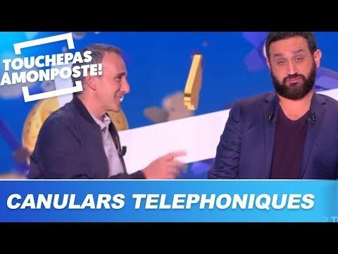 Les canulars téléphoniques de Cyril Hanouna et Élie Semoun