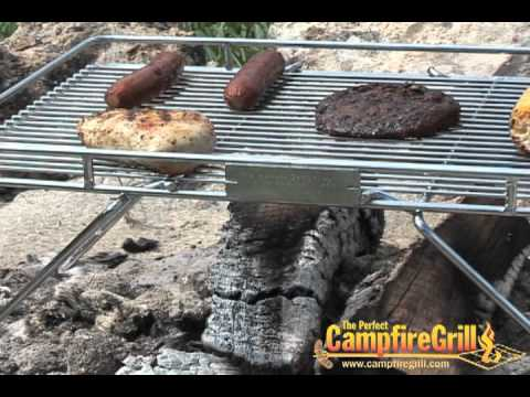 Explorer Grill Perfect Camp Fire Cooking Grill For Open