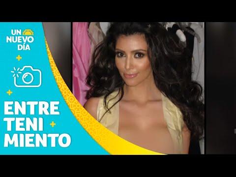Kim Kardashian revela el secreto más grande para lucir sus senos | Un Nuevo Día | Telemundo