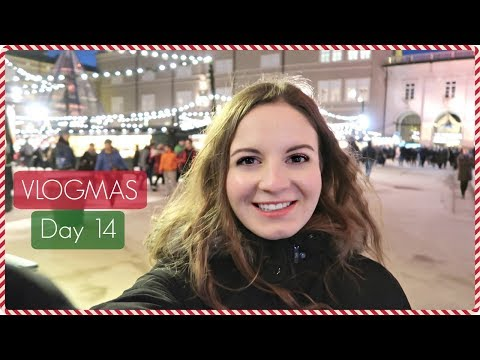 Vlogmas Day 14 I Beautiful Christmas Markets in Salzburg I Flight Attendant Edition I 2017