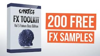 200 FREE FX SAMPLES - FX Toolkit Vol 5