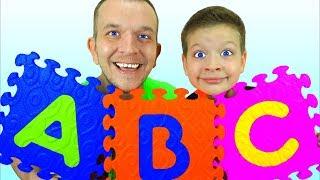 Макс и песенка Про Алфавит для малышей - Песни для детей