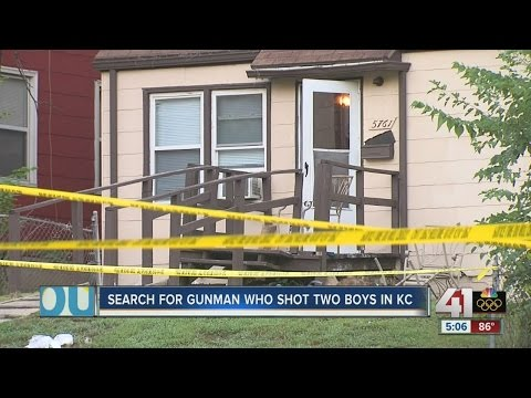 Police search for gunman in shooting deaths of two Kansas City children