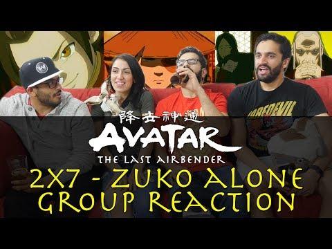 Avatar: The Last Airbender - 2x7 Zuko Alone - Group Reaction