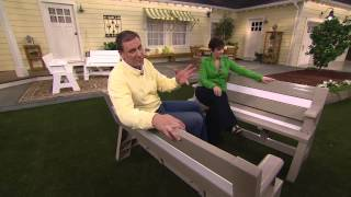 Convert-a-bench Ultra Ii Outdoor 2-in-1 Bench-to-table W/5 Year Lmw With Jane Treacy
