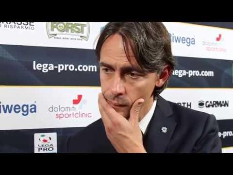 Post-match reaction with coach Filippo Inzaghi (FCS - Venezia, Coppa Italia)