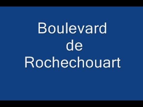Boulevard de  Rochechouart  Paris Arrondissements 9e et 18e