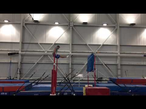 High bar, training at cirque du soleil