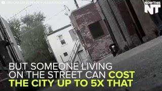 Medicine Hat Housing First Program for the homeless