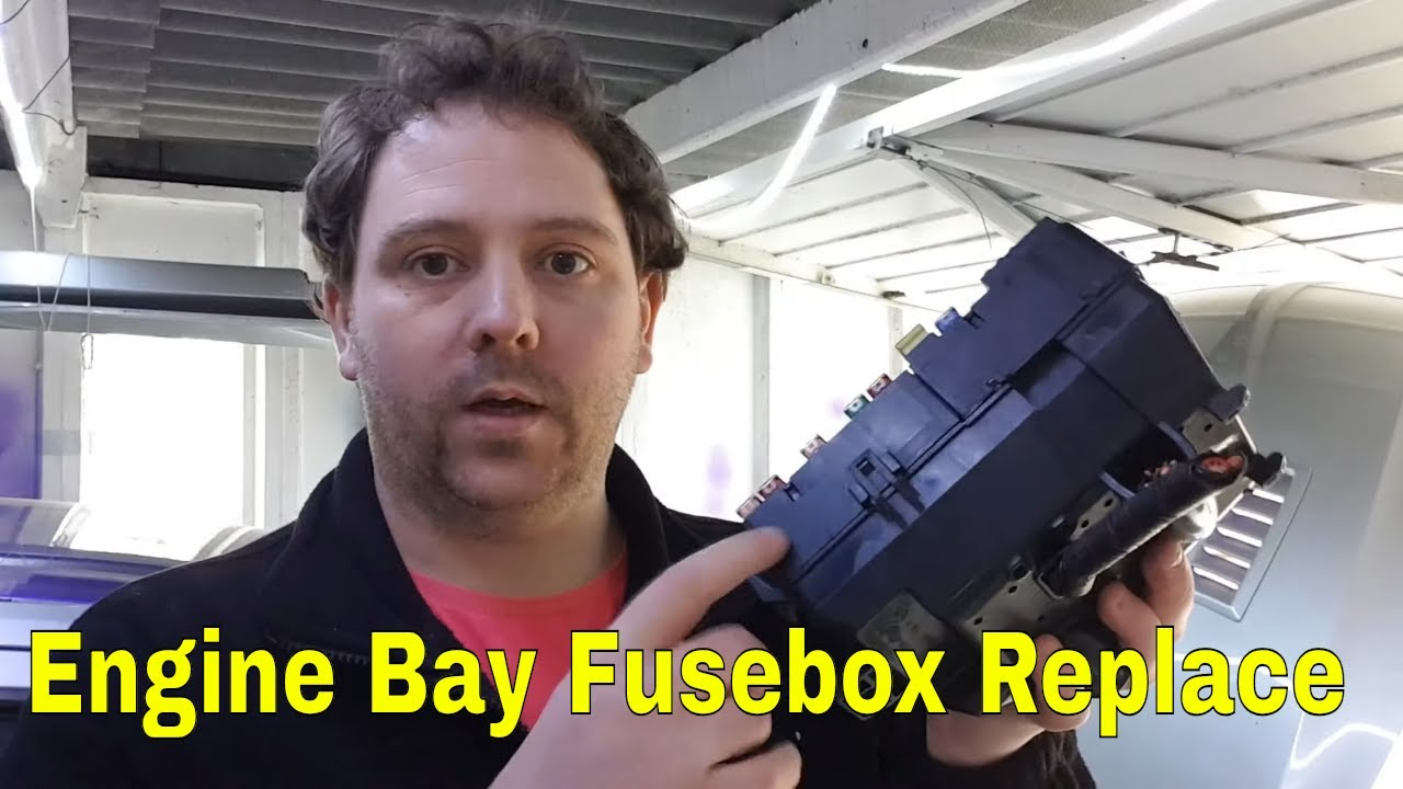 medium resolution of how to ford mondeo engine bay fusebox removal