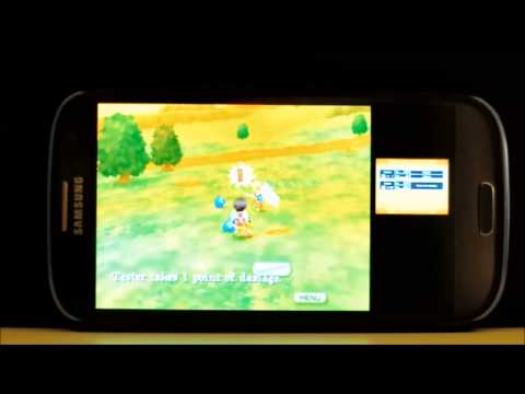 DraStic Nintendo DS emulator Android demo video