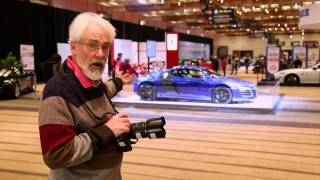 Toronto Star photographer David Cooper takes us for a spin on how to properly shoot the beautiful cars at the auto show.