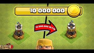 10.000.000 ALTIN BOMBA KULESİ BASTIK !!! | Clash OF clans