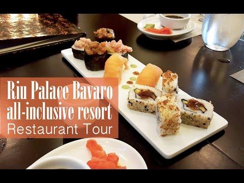 Family Travel Riu Palace Bavaro Restaurant Tour