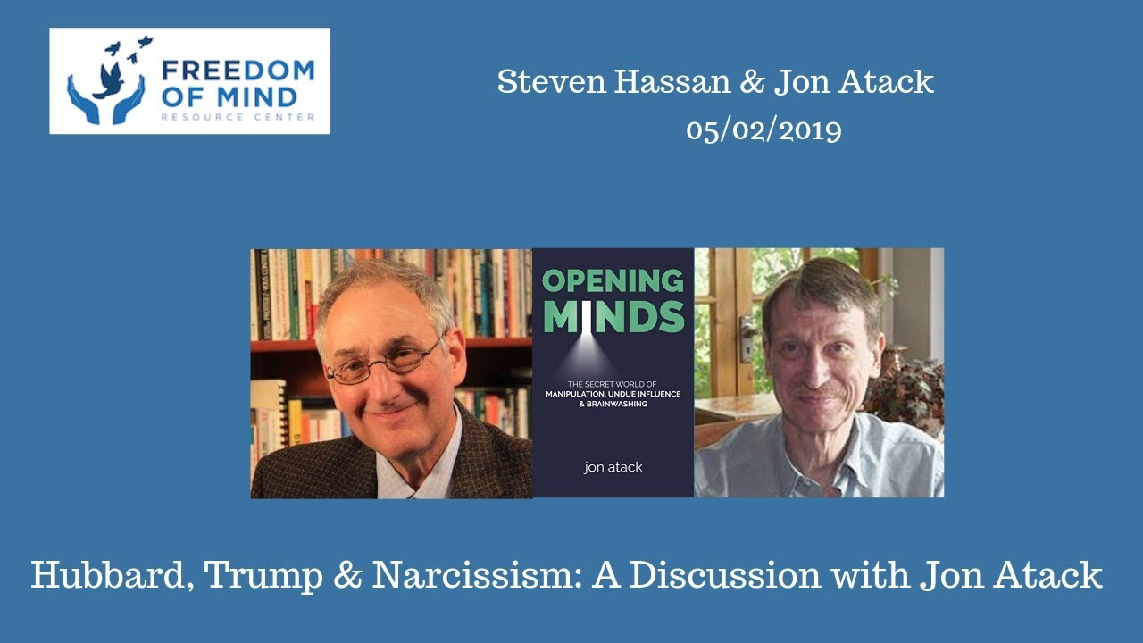 Hubbard, Trump, and Narcissism: A Discussion with Jon Atack