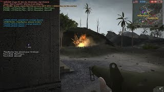 Forgotten Hope 2 Peleliu gameplay CMP Pacific map test event