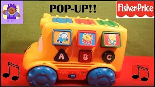 Baixar 1999 Fisher-price musical pop up bus bilingual English and Spanish learning toy
