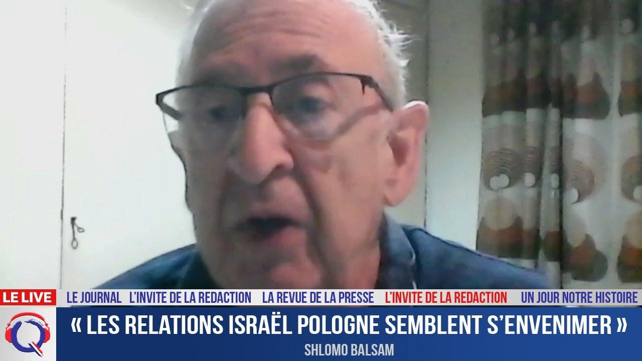 « Les relations Israël Pologne semblent s'envenimer » - L'invité du 27 juin 2021