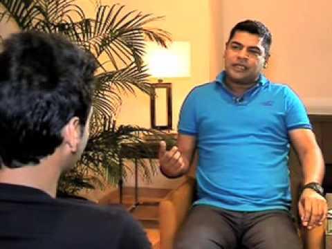 RAJEEV MISHRA DOING IV WITH BHUVNESHWER KUMAR PART1
