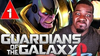 GUARDIANS OF THE GALAXY Telltale Gameplay Walkthrough Part 1 - WHOOP THANOS - Lets Play