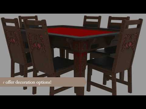 Table Of Ultimate Gaming Chairs With Decoration