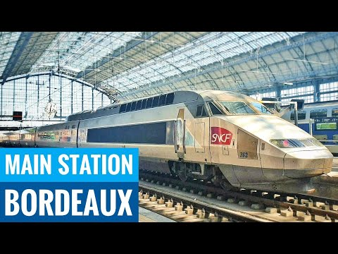 Bordeaux Gare Saint Jean Main Train Station - Traveling France 🇨🇵