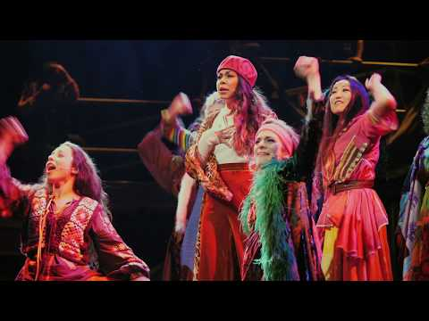 HAIR - The Original Tribal Rock Musical - First Look On Stage!