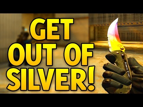 CS GO How To Get Out Of Silver - CS GO Silver Competitive Game