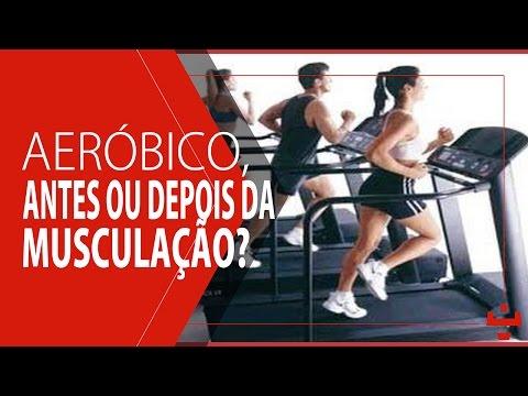 Aeróbico, antes ou depois da musculação?