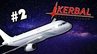 LIETADLO VO VESMÍRE! (Kerbal Space Program) | #2