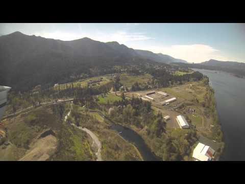 Landing at Cascade Locks