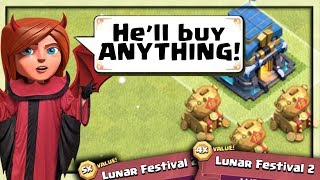 MASSIVE Spending Spree in Clash of Clans I BOUGHT IT ALL!