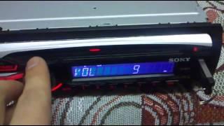 магнитола Sony CDX-GT454US + блок питания от компьютера