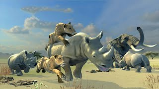 Clan of Rhinos Android Gameplay