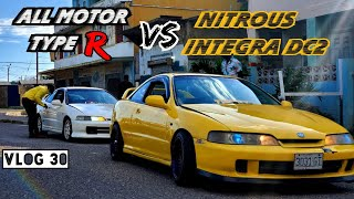 ALL MOTOR TYPE R  VS NITROUS D…