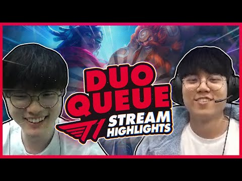 Someone Yoinked Faker's Kill? | T1 League Of Legends DUO QUE Highlights
