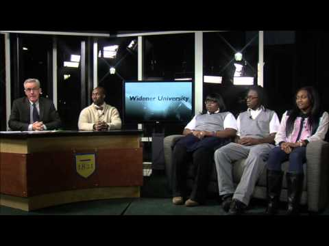 Live from Newsroom at Widener: College Access Center (Part 1)