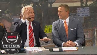 Lee Corso picks Week 7: Michigan Wolverines vs. Wisconsin Badgers | College GameDay